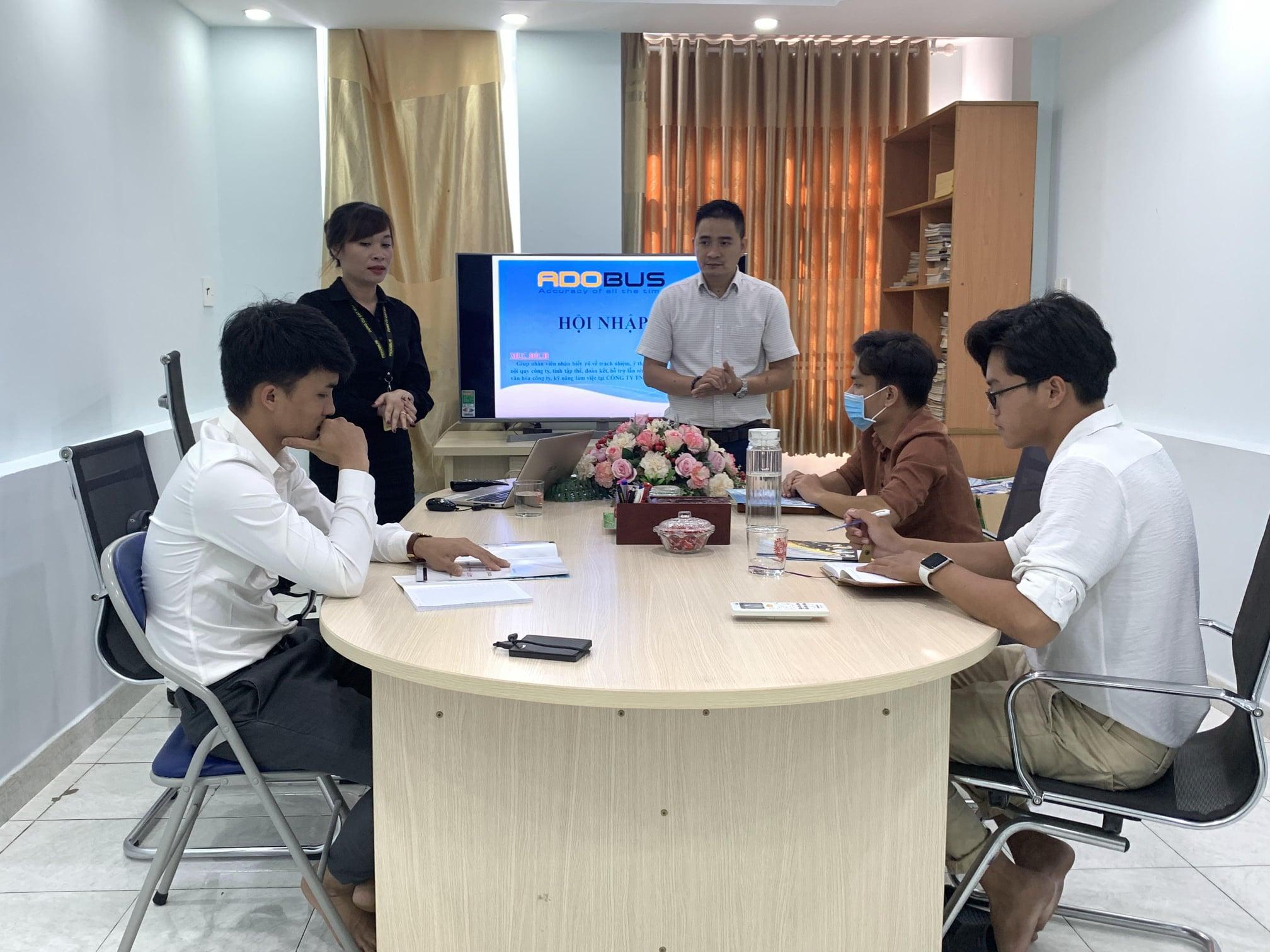 Adobus với hoạt động đào tạo hội nhập cho nhân viên mới 2021