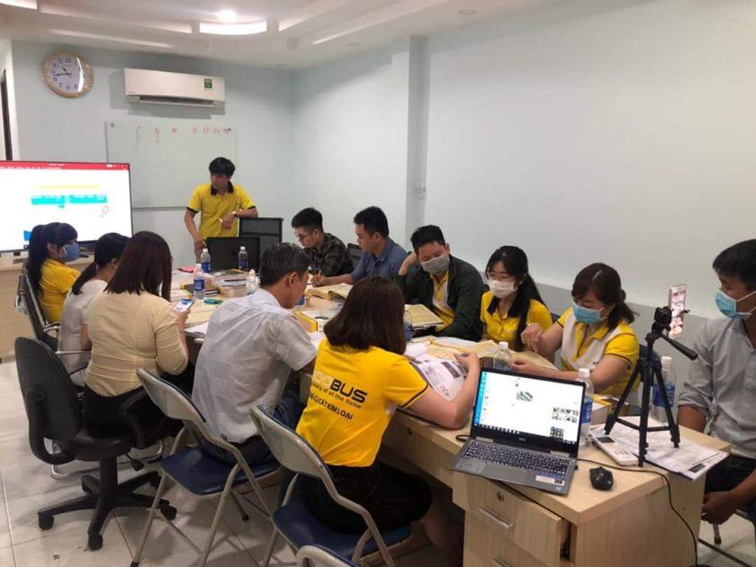Adobus tổ chức training sản phẩm và kỹ năng bán hàng
