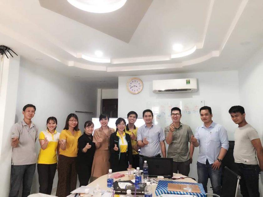 Adobus tổ chức training sản phẩm ngày 1