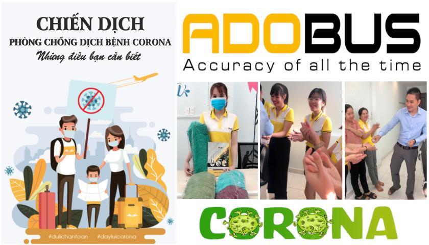 Adobus chung tay cùng cộng đồng phòng, chống dịch bệnh Virus Corona (nCoV)