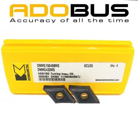 Mảnh dao tiện chạy thép DNMG150408MS-KCU25