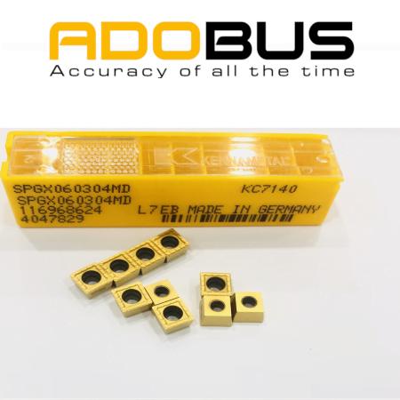 Mảnh khoan Drill Fix- SPGX060304MD KC7140