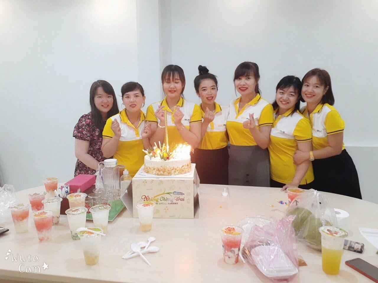Chúc mừng sinh nhật nhân viên công ty tháng 7