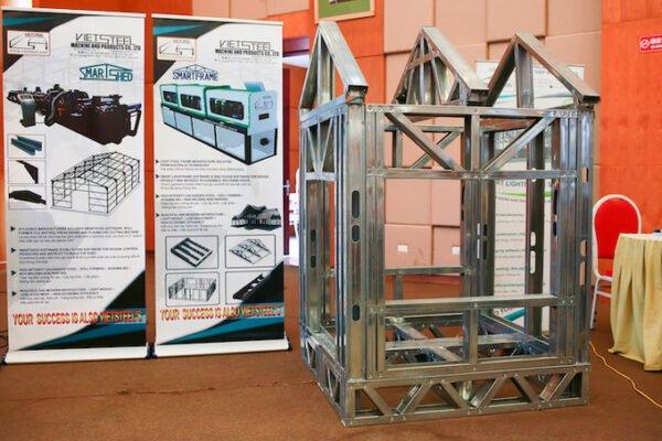 Sản phẩm nhà thép tiền chế của công ty Viet Steel.